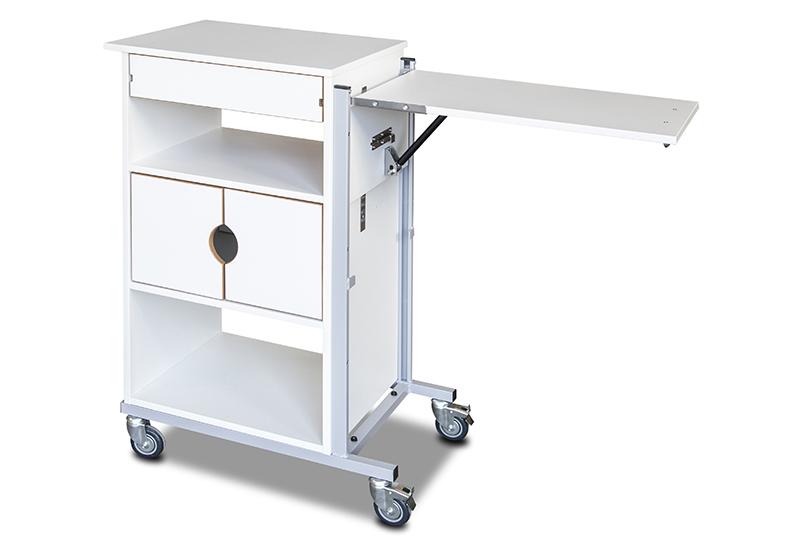 SØLVI - Sykehusnattbord (110 cm)
