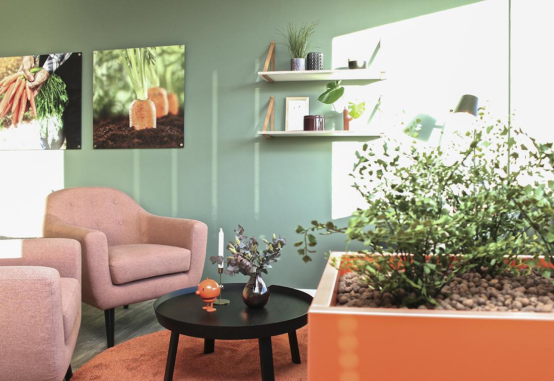 Blomsterkasser i laminat formica clementin