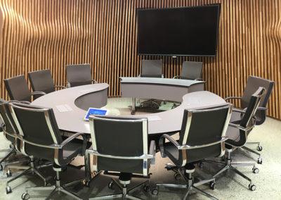 Arkitekttegnede konferansebord