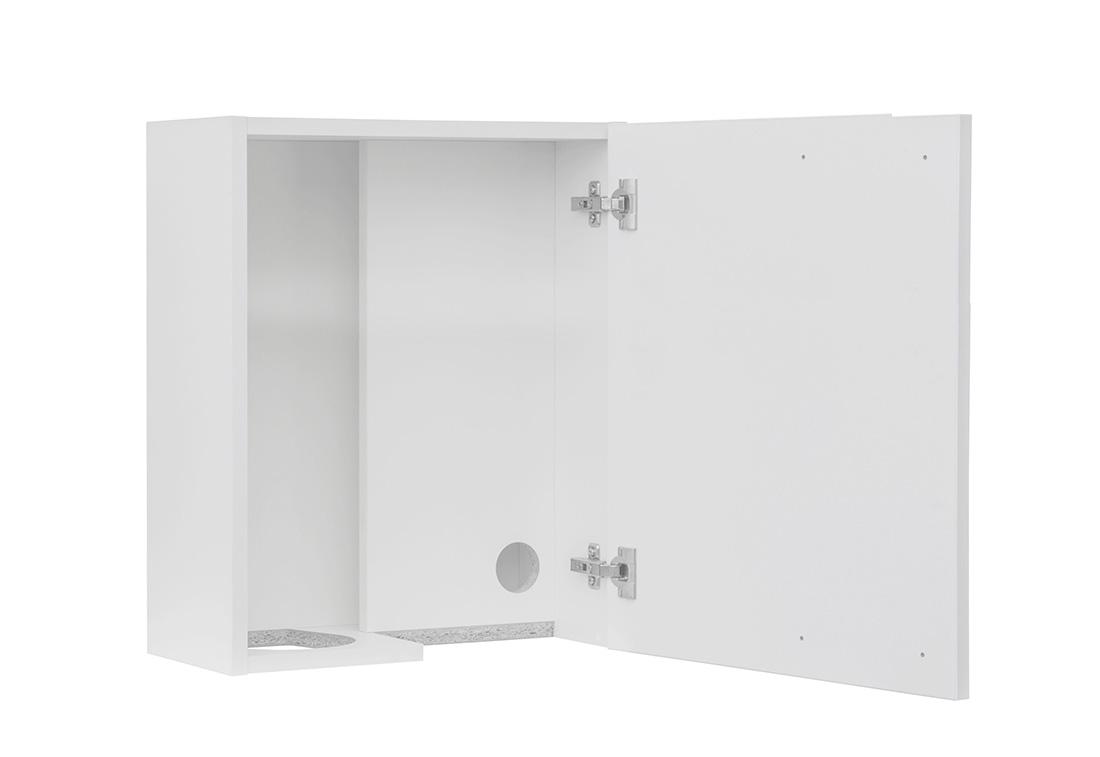 M3-2514-SH - Speilskap for såpe, sprit og tørkerull høyrehengslet