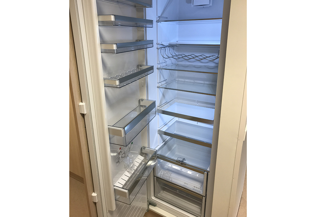 Integrert kjøleskap