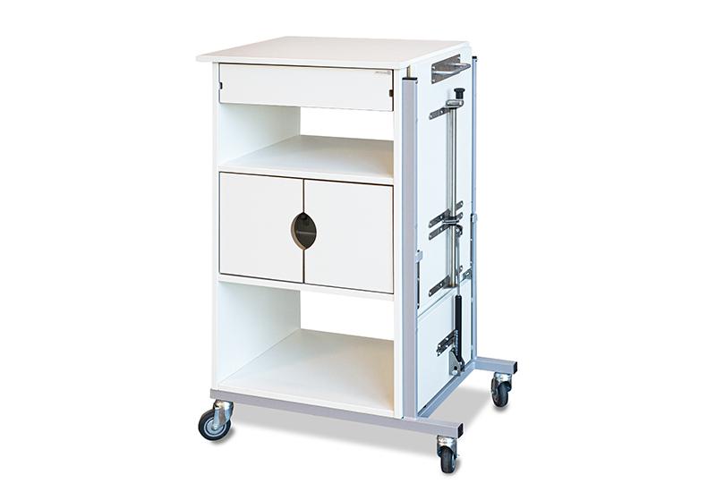 EMMA – Sykehusnattbord med vipp (97 cm)