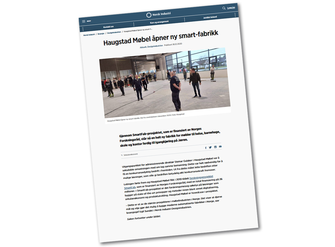Link til Norsk Industri